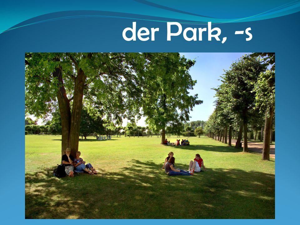 der Park, -s
