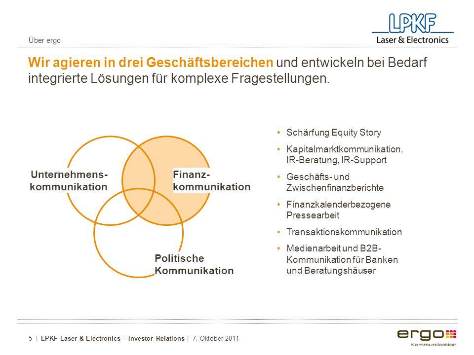 Wir agieren in drei Geschäftsbereichen und entwickeln bei Bedarf integrierte Lösungen für komplexe Fragestellungen.