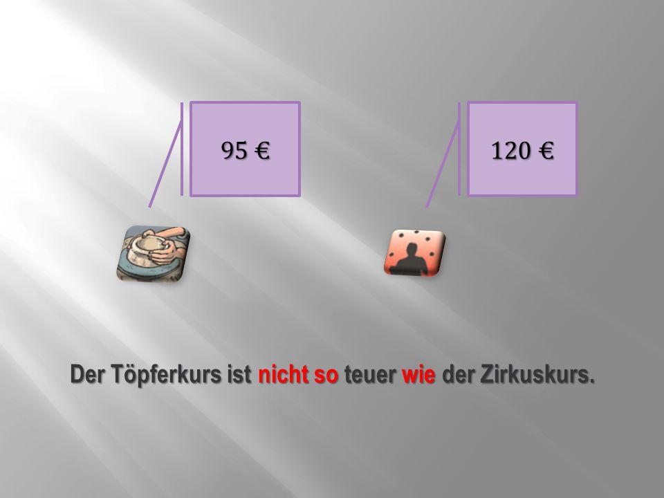 40 € 140 € Der Chor ist nicht so teuer wie die Videomontage.