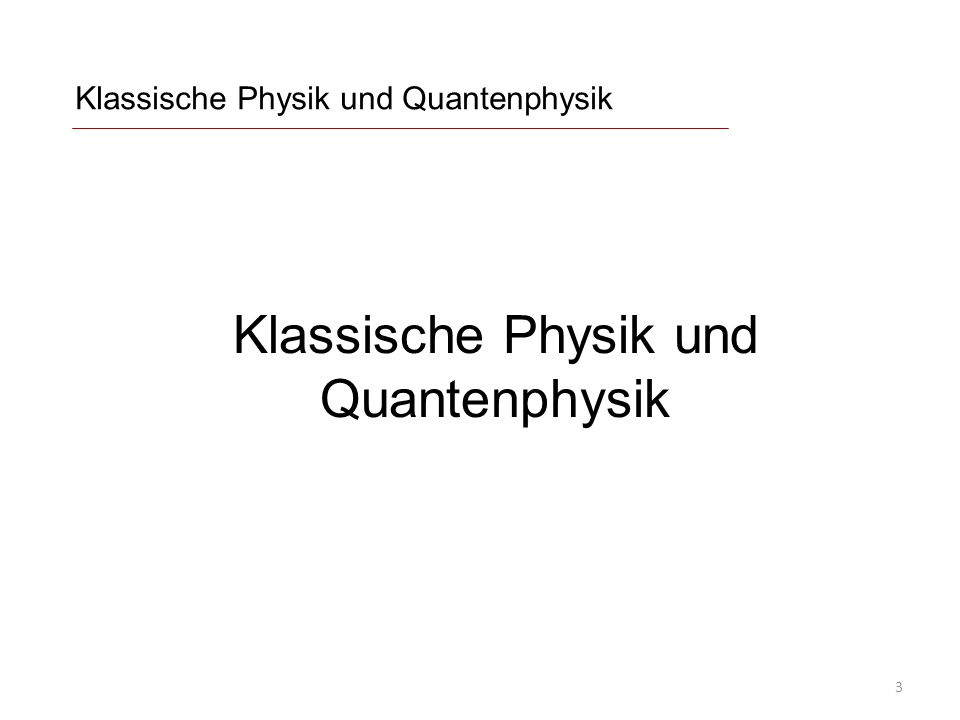 """Unbestimmtheit Werner Heisenberg (1927): Messgrößen sind fundamental unbestimmt (""""unscharf ) Es gibt Messgrößen, die nicht gleichzeitig scharfe Werte haben können (komplementäre Messgrößen): Beliebige Körper: Ort und Impuls Elektronen: Spinkomponenten in verschiedene Richtungen Photonen: Polarisationen ( = Verhalten an Polarisatoren mit unterschiedlichen Orientierungen) Doppelspalt-Experiment: Weg des Teilchens Was ist an einer Messgröße """"wirklich ."""
