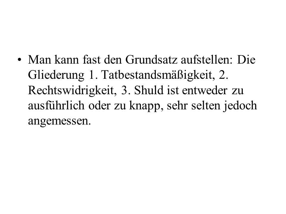Text 2 A.Das vollendete vorsätzliche Begehungsdelikt I.