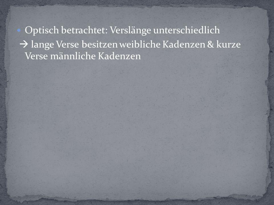 Z.18+20 Der Jugend Frucht + Der Jahre Flucht  Parallelismus + Metapher + Inversion Z.