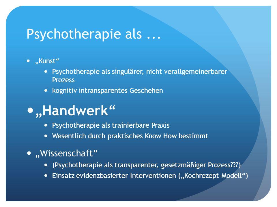 """Professionalisierung der Psychotherapie: Ringen um """"reflektiertes Gleichgewicht (""""reflective equilibrium ) WissenschaftHandwerk Moral Diskurse Fachdiskurs"""