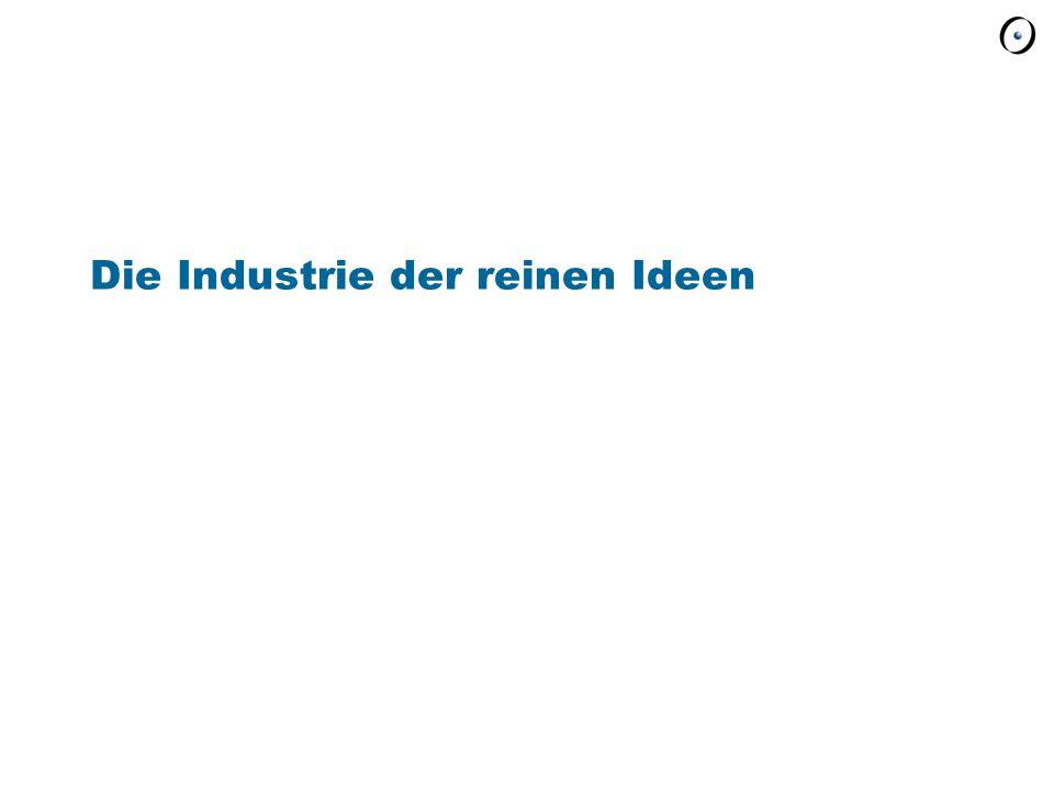 Die Industrie der reinen Ideen