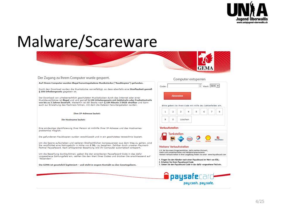 Malware/Scareware 4/25