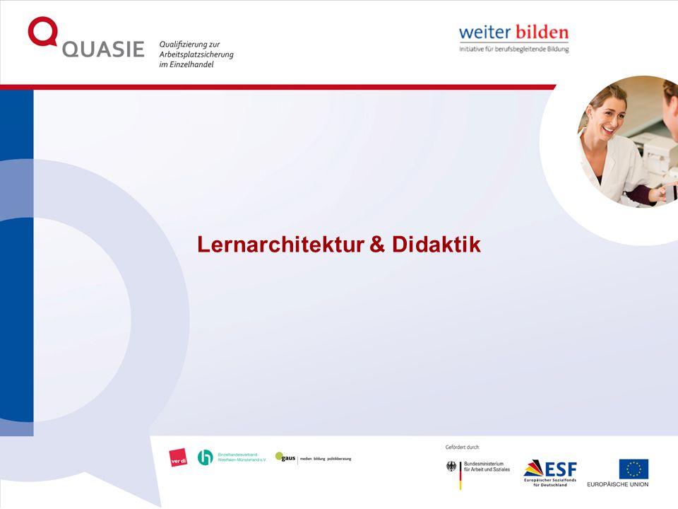 Lernarchitektur & Didaktik