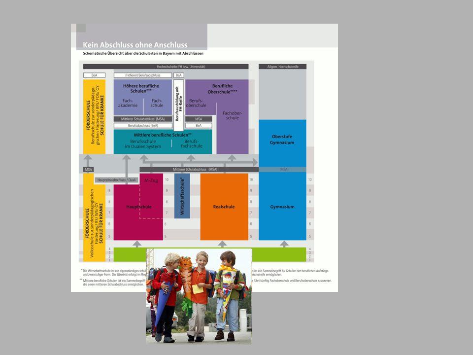 Das Konzept der Fach- und Berufsoberschule: Ausbildungsrichtungen Technik Wirtschaft Sozialwesen