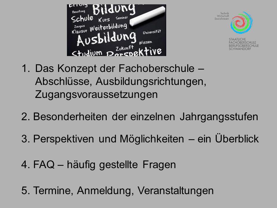 Die Fachoberschule: Besonderheiten der einzelnen Jahrgangsstufen Der Erwerb der Fachgebundenen Hochschulreife in der 13.