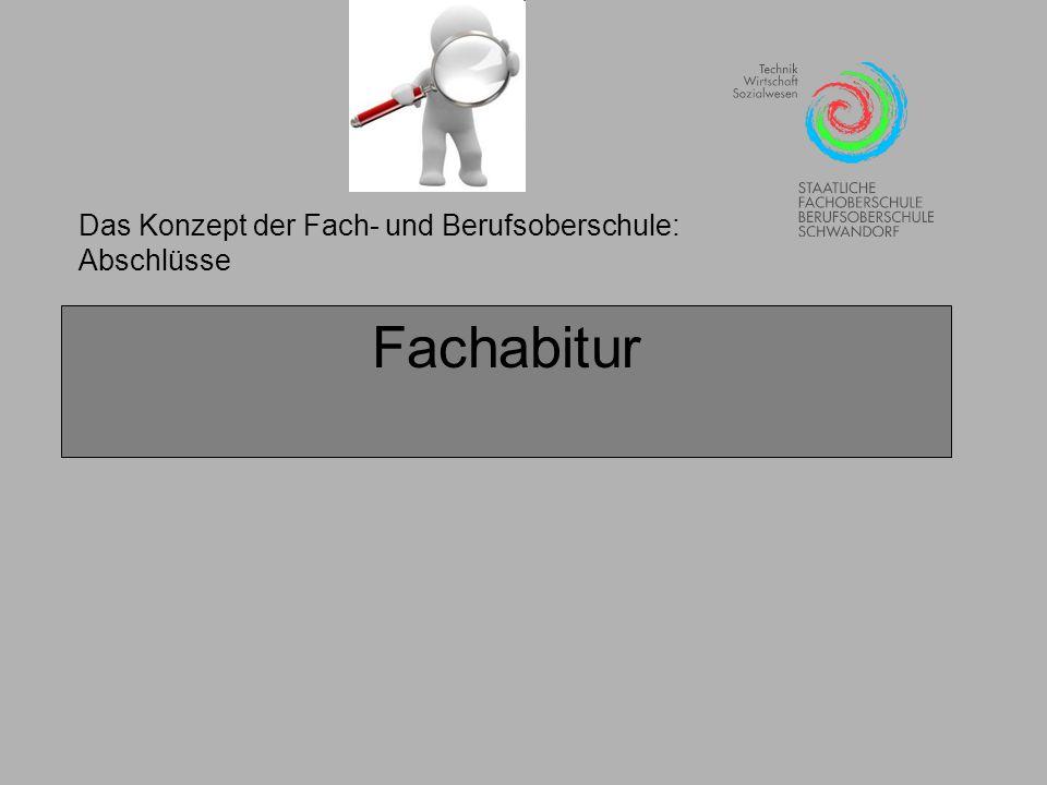 Die Fachoberschule: Besonderheiten der einzelnen Jahrgangsstufen Geschafft.