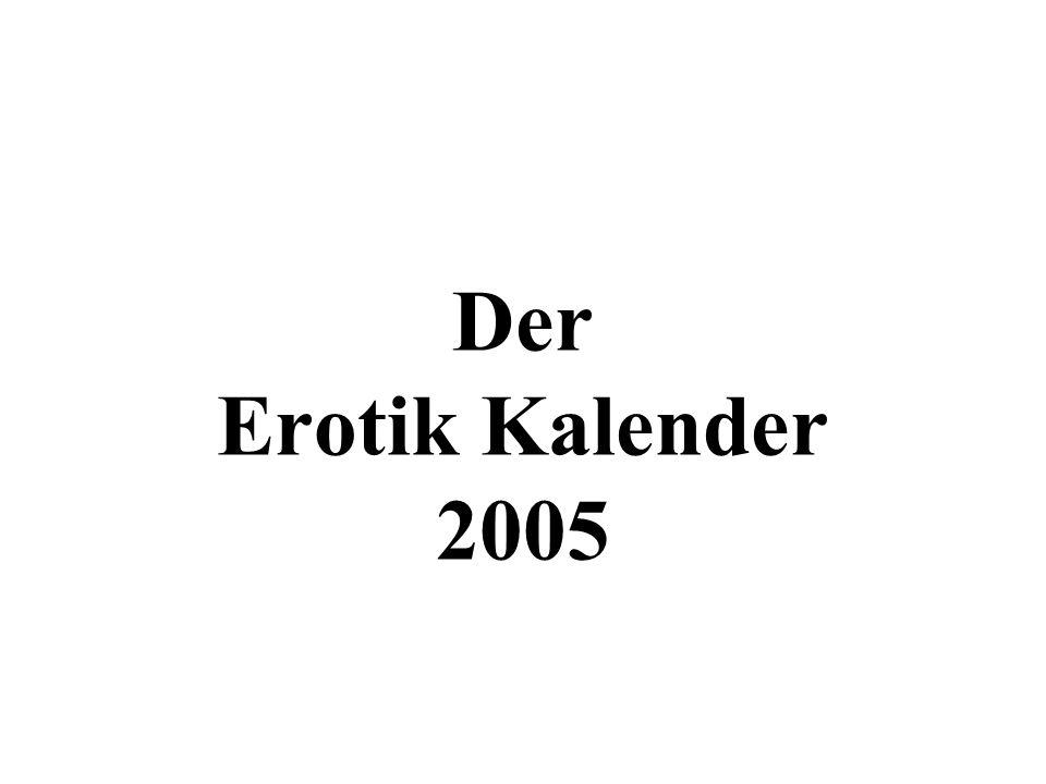Der Erotik Kalender 2005