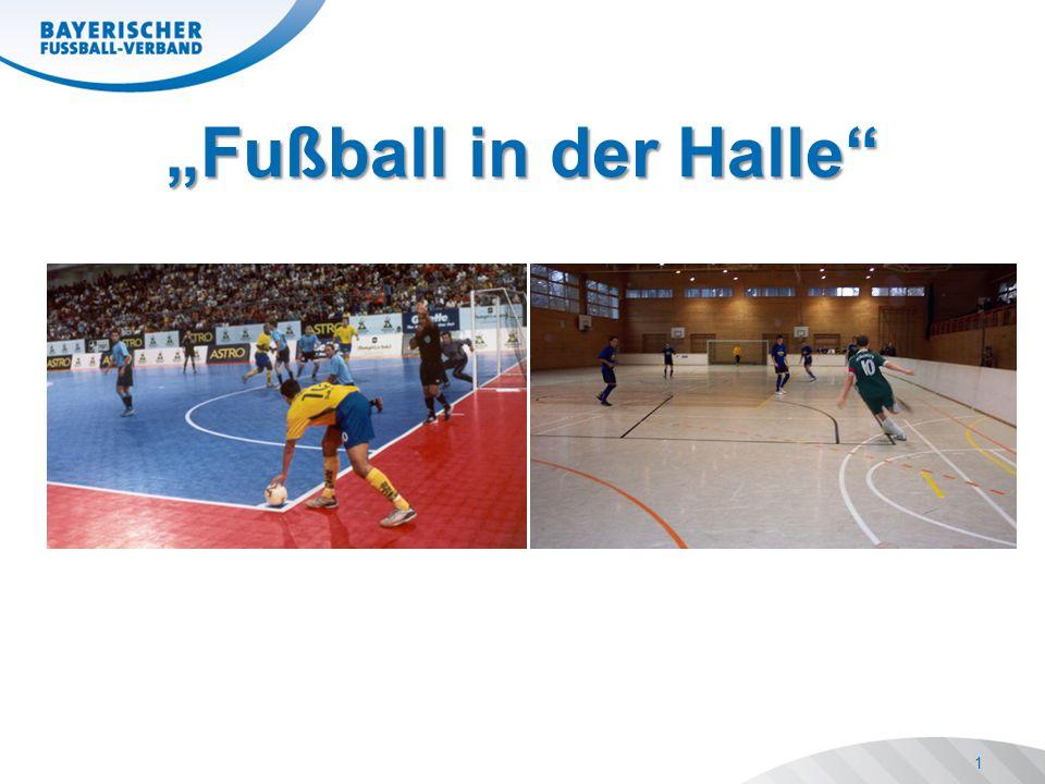"""2 Richtlinien Richtlinien Durchführungsbestimmungen Durchführungsbestimmungen Neuerungen Neuerungen """"Fußball in der Halle"""