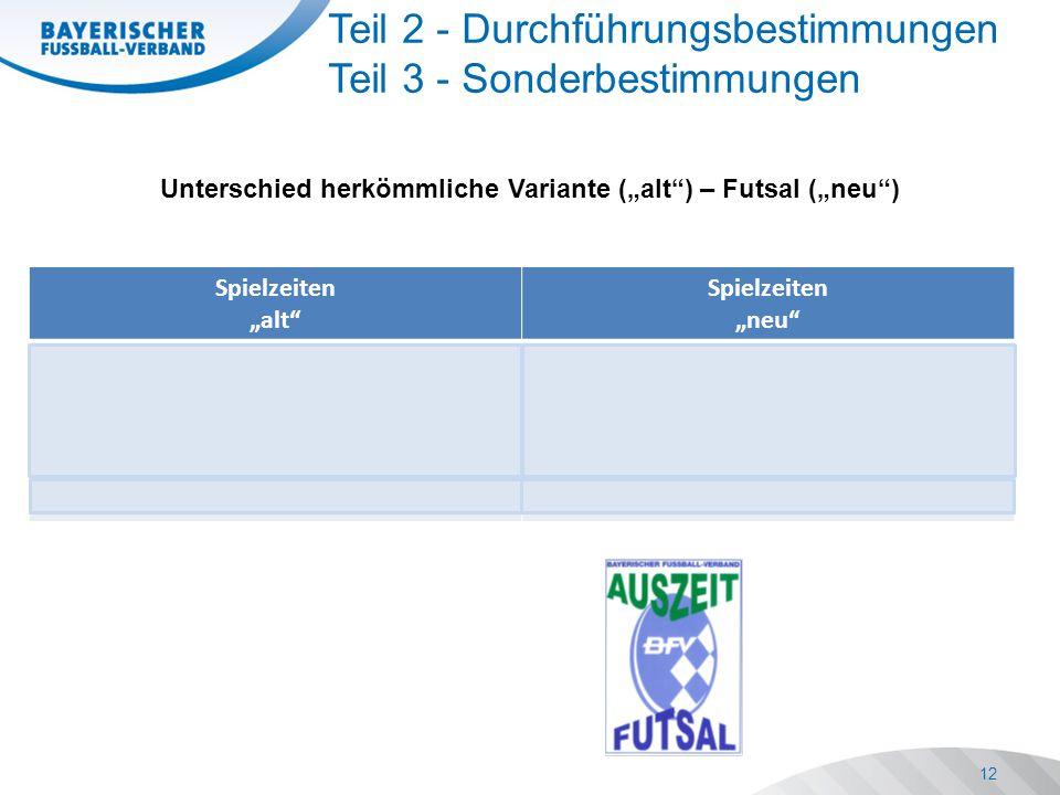 """Spielzeiten """"alt Spielzeiten """"neu Herren/Sen.- 2 x 15 Min."""