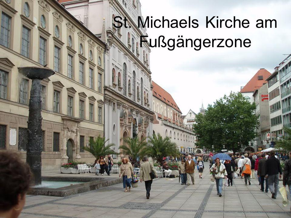 St. Michaels Kirche am Fußgängerzone