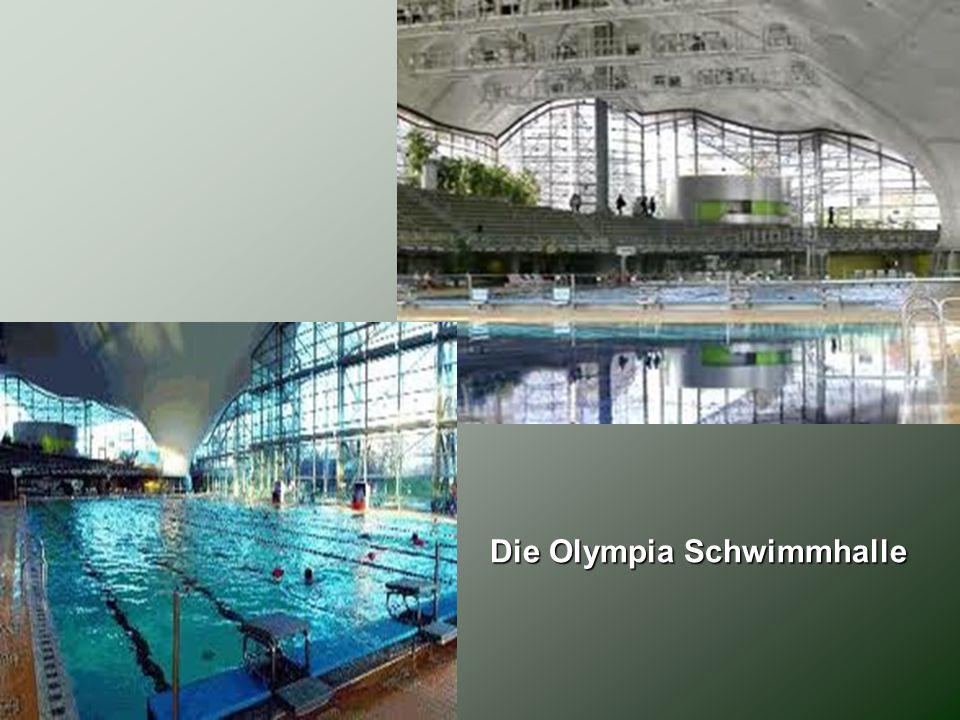 Die Olympia Schwimmhalle