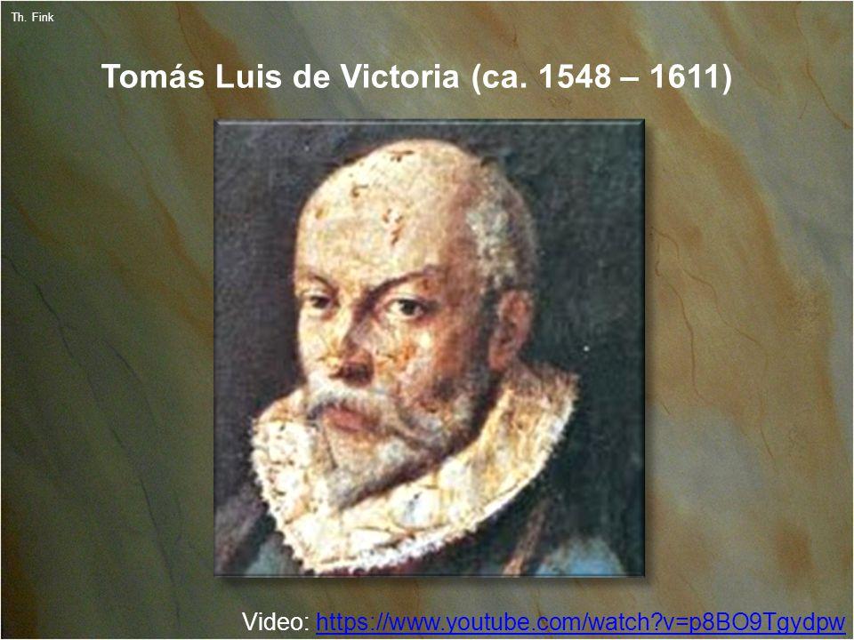 9 Th. Fink Tomás Luis de Victoria (ca.