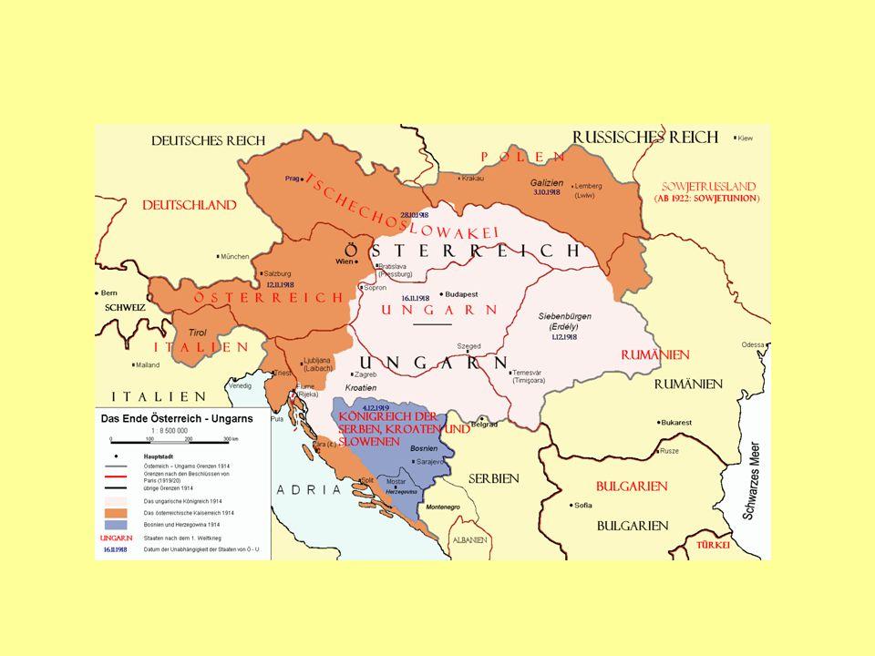 SpracheAbsolutzahlProzent Deutsch12.006.52123,36 Ungarisch10.056.31519,57 Tschechisch6.442.13312,54 Polnisch4.976.8049,68 Serbisch und Kroatisch 4.380.8918,52 Ruthenisch (Ukrainisch) 3.997.8317,78 Rumänisch3.224.1476,27 Slowakisch1.967.9703,83 Slowenisch1.255.6202,44 Italienisch768.4221,50 Sonstige2.313.5694,51 Insgesamt51.390.223100,00
