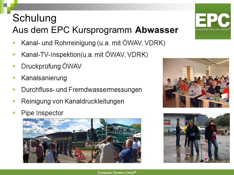European Pipeline Center ® Informationen werden immer schneller ausgetauscht.