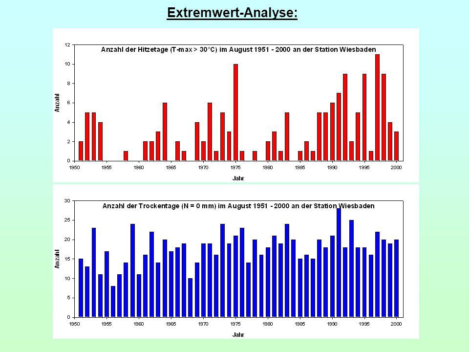 Extremwert-Analyse: