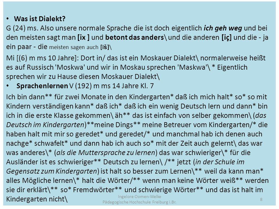 Ergebnisse einer Teilerhebung Oberrhein Quantitativ Antworten überhaupt GesamtESMS Anzahl 9246 Antworten10111459 Mittel 11 32 (10.98) (31.71) Nach Typ
