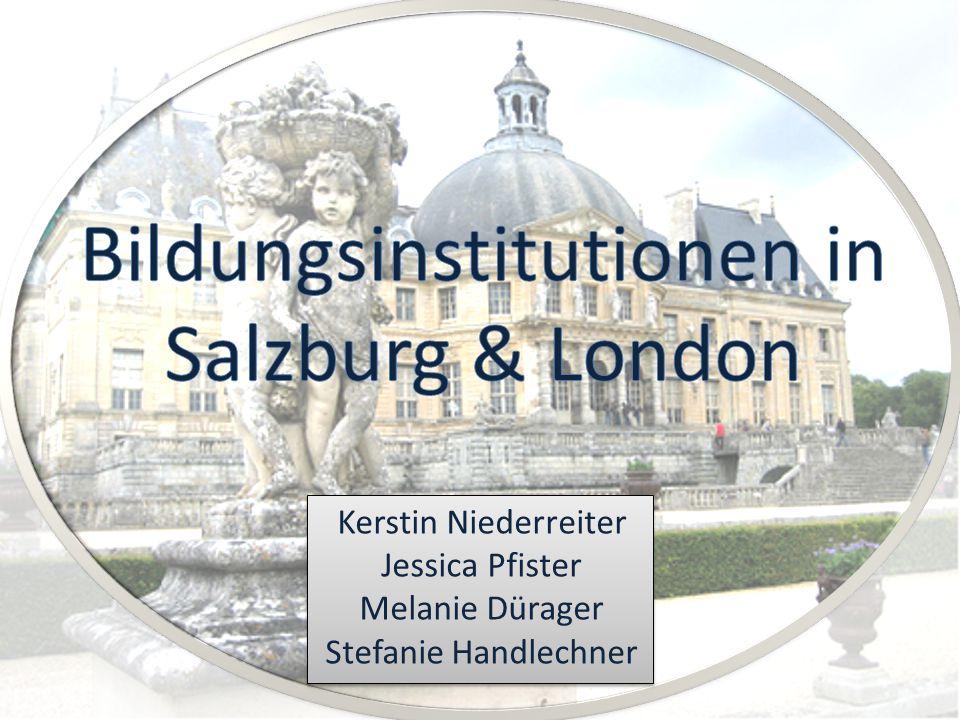 Schulen im Vergleich VS. Salzburg London