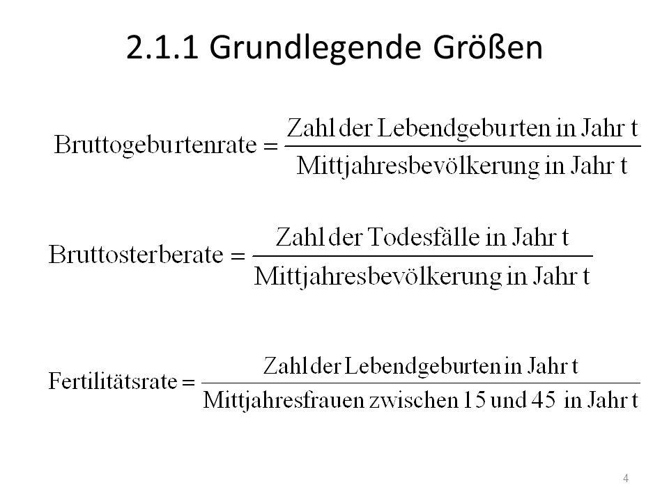 2.1.1 Grundlegende Größen 4