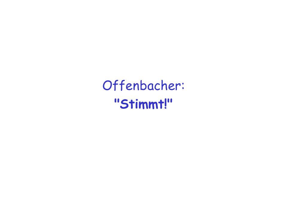 Offenbacher: