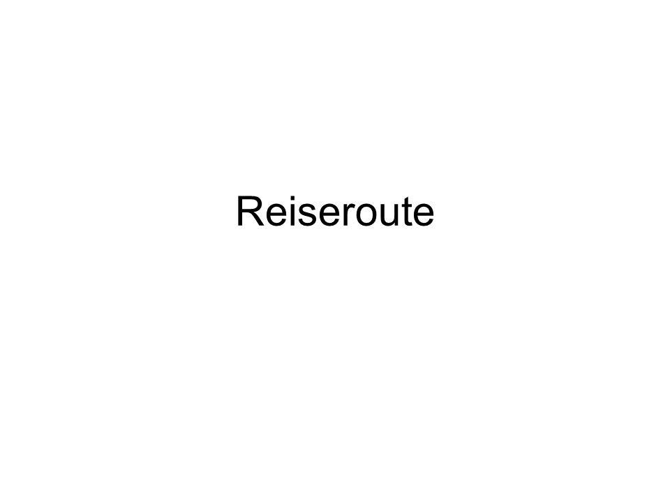 Reiseroute