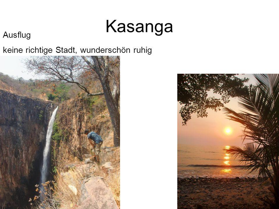 Kasanga Ausflug keine richtige Stadt, wunderschön ruhig