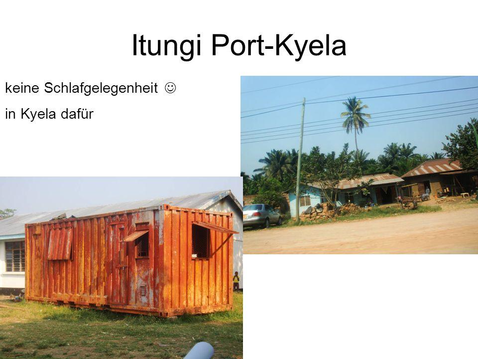 Itungi Port-Kyela keine Schlafgelegenheit in Kyela dafür