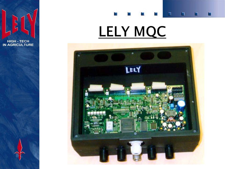 MQC Farb Farb messung : Inline Messung pro Euterviertel Modulares Licht in verschiedene Farben wird auf die Milch projektiert Reflektionslicht wird erfaßt Automatische Abtrennung von Milch mit einer optisch wahrnehmbaren Abweichung ( Blut, Biestmilch )