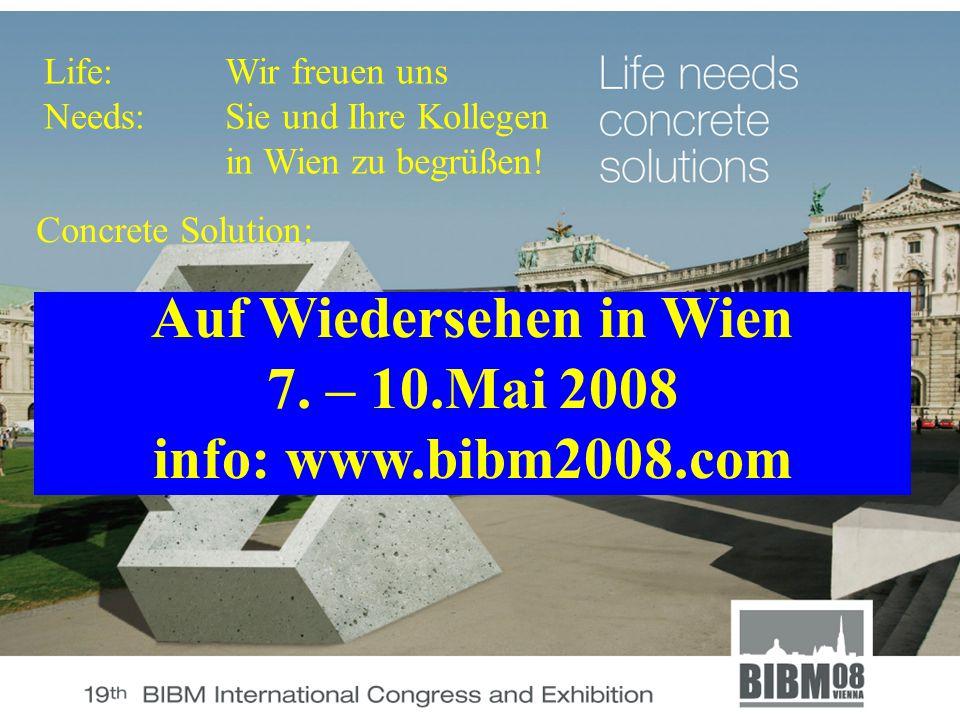 Life: Needs: Auf Wiedersehen in Wien 7.