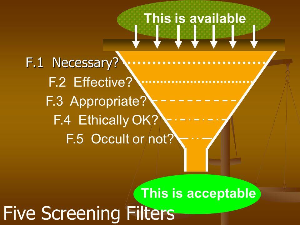 F.4: Homöopathie ethisch tragbar.3. Hilft sie. 1.