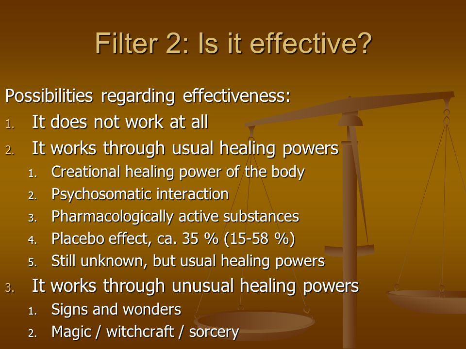 Filter 3: Is it appropriate.1. Age 2. Sex 3. Finances 4.