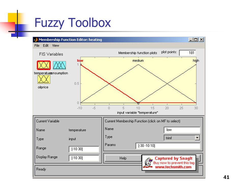 41 Fuzzy Toolbox