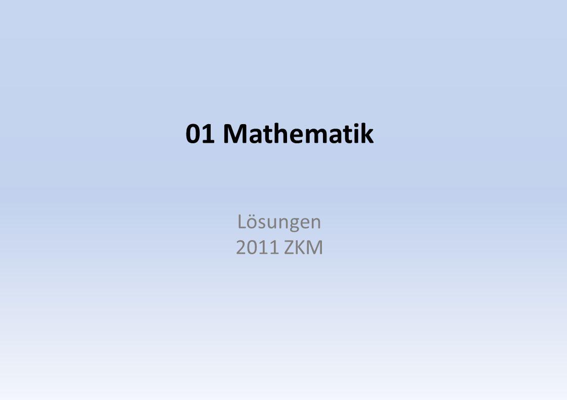 01 Mathematik Lösungen 2011 ZKM
