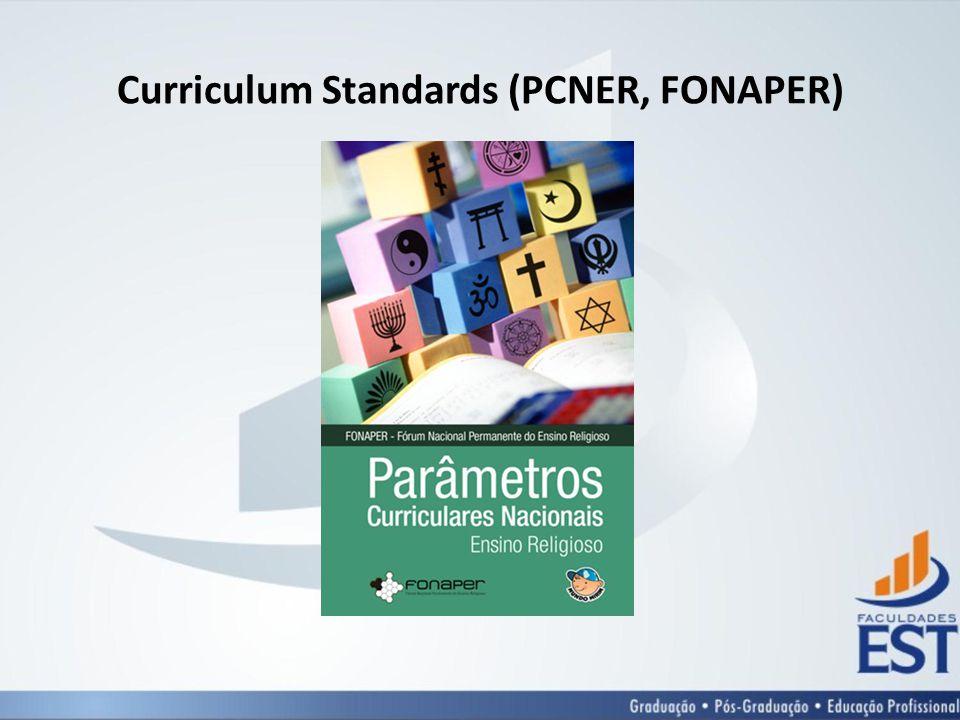 Curriculum Standards (PCNER, FONAPER)