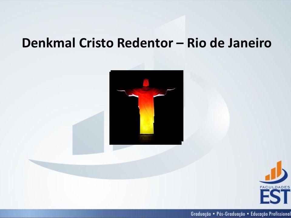 Denkmal Cristo Redentor – Rio de Janeiro