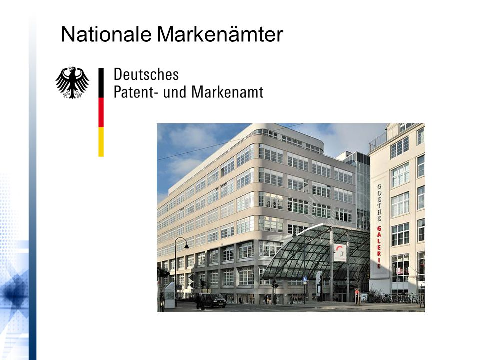 Nationale Markenämter