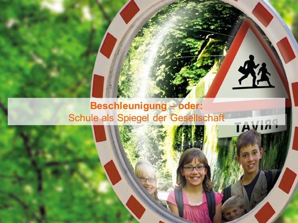 20.11.2014Frank Brückel – Schule heute und in Zukunft 2 Beschleunigung – oder: Schule als Spiegel der Gesellschaft