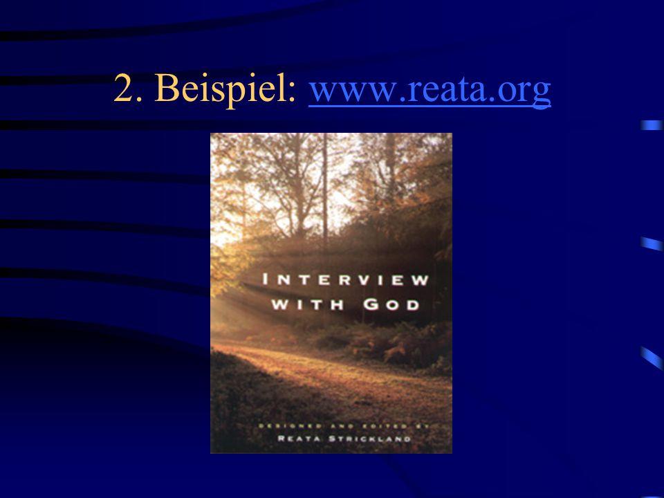 2. Beispiel: www.reata.orgwww.reata.org