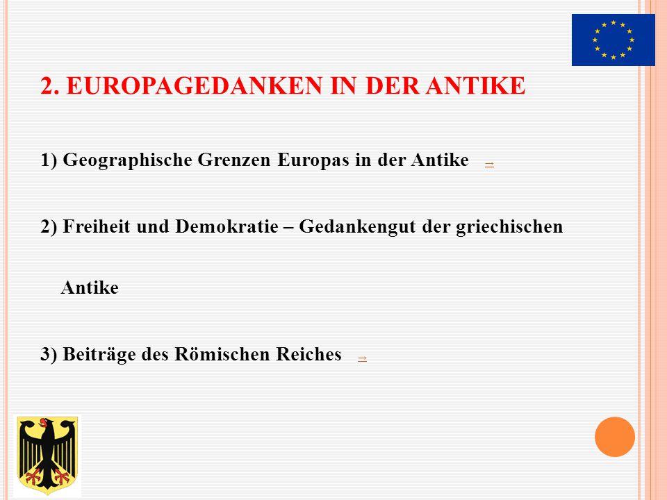 """Weltkarte und Weltkenntnisse der """"Europäer in der Antike ←"""