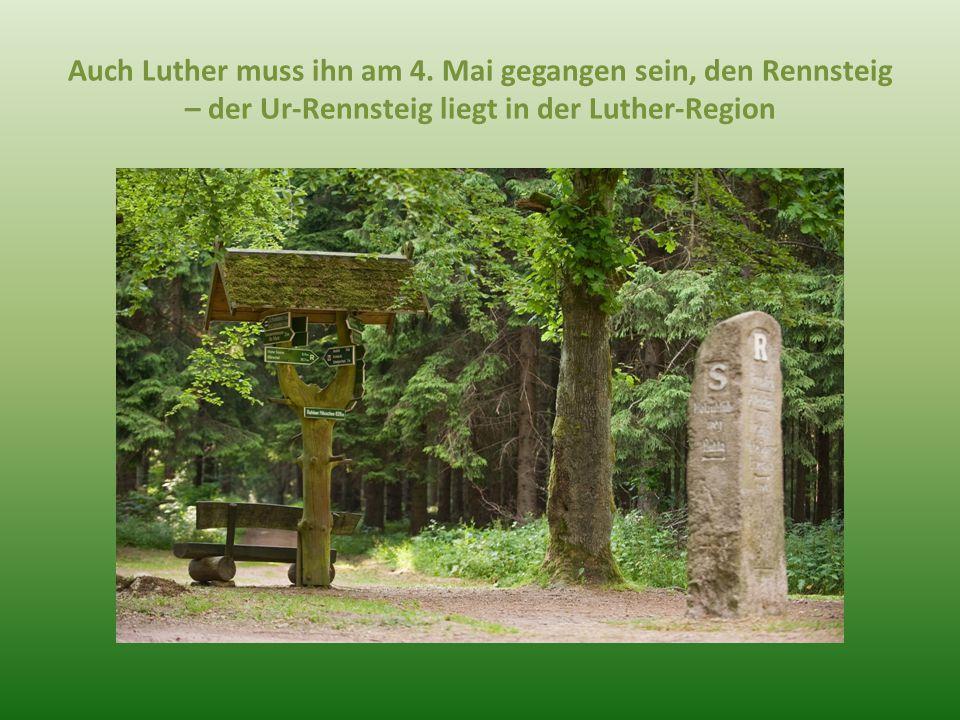 Auch Luther muss ihn am 4.