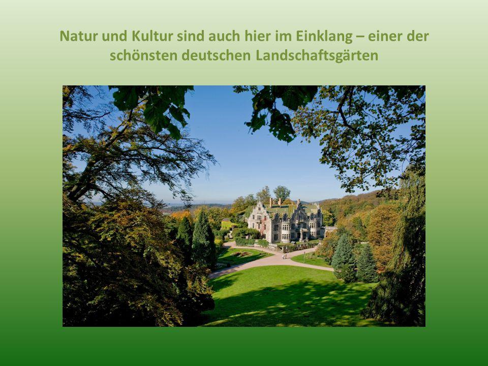 Natur und Kultur sind auch hier im Einklang – einer der schönsten deutschen Landschaftsgärten