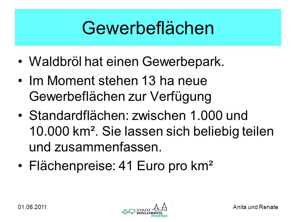 01.06.2011Anita und Renate Der Gewerbepark