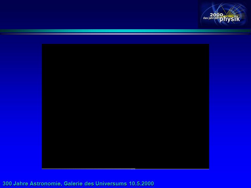300 Jahre Astronomie, Galerie des Universums 10.5.2000
