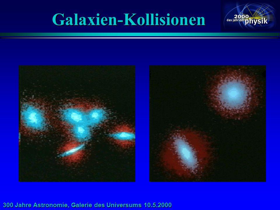 300 Jahre Astronomie, Galerie des Universums 10.5.2000 Röntgen-Absorptions-Wald? Die ESA-Mission XEUS kann als erste Absorptionslinien von warmem und