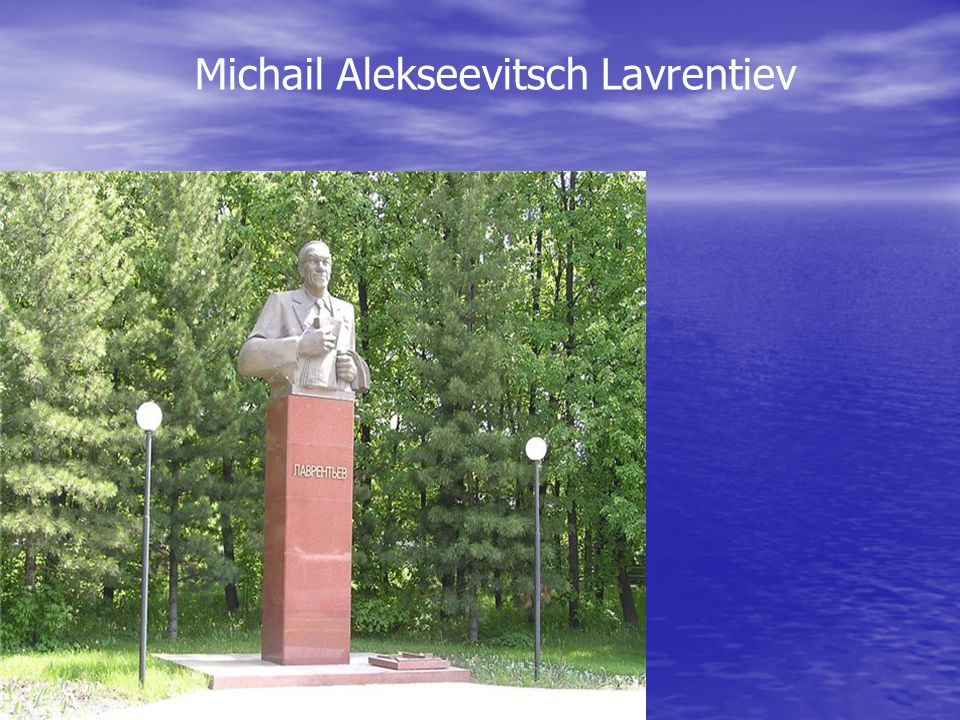 Michail Alekseevitsch Lavrentiev