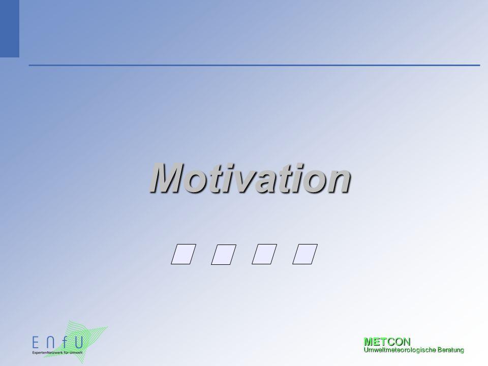 METCON Umweltmeteorologische Beratung Motivation