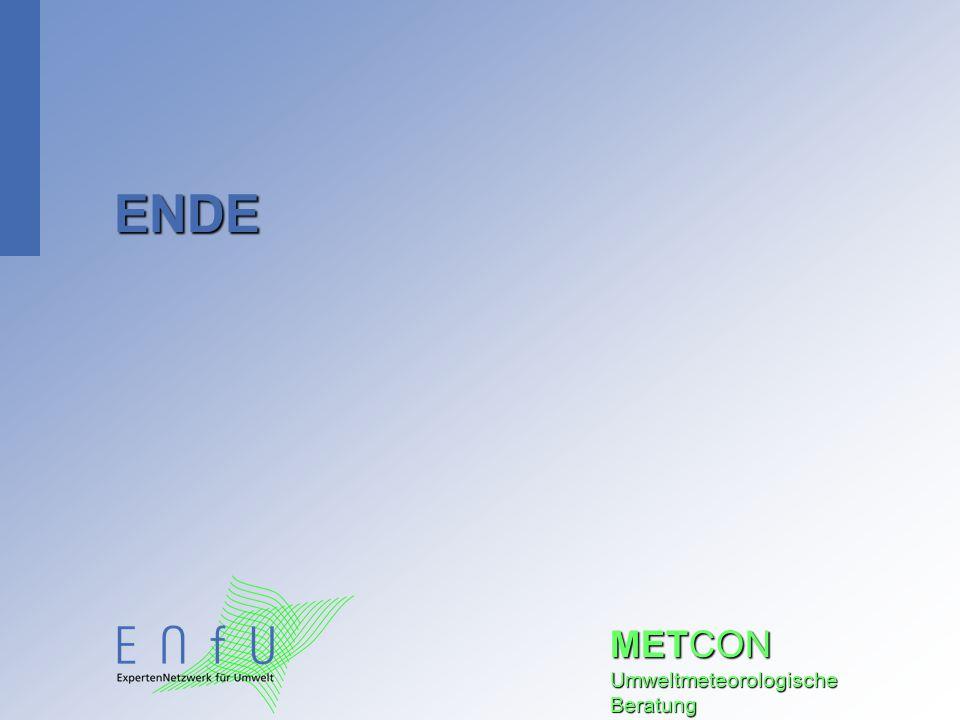 METCON Umweltmeteorologische Beratung ENDE