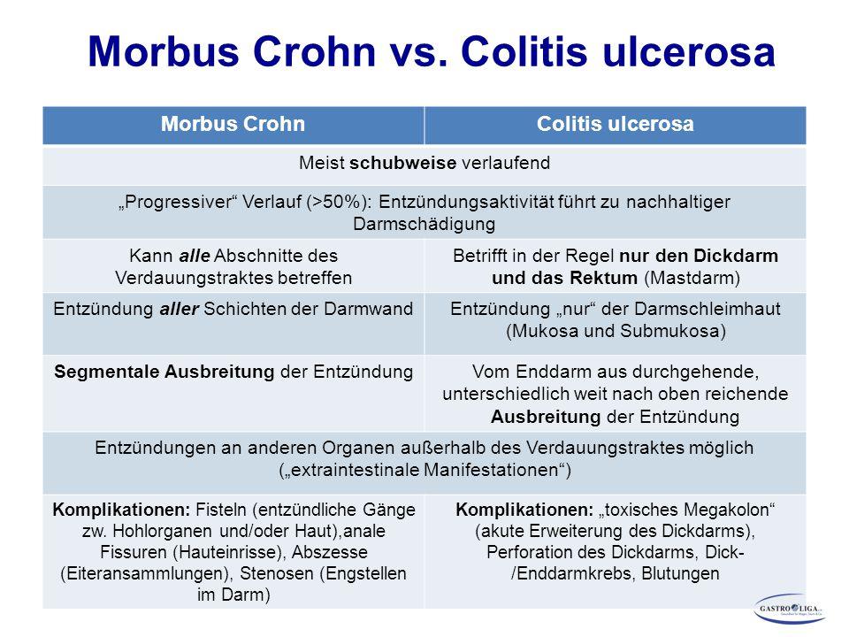 M.Crohn Therapiestrategien Beeinflussung des Krankheitsverlaufs: Nachhaltigkeit durch frühzeitigen Therapiebeginn Grafik modifiziert nach Jones J., Panaccione R., Curr Opinion Gastroenterol.